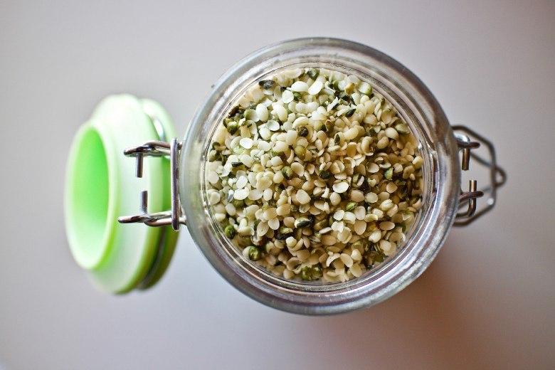 peeled marijuana seeds